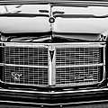 Pontiac Grand Ville Grille -0332bw by Jill Reger