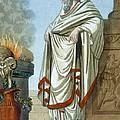 Pontifex Maximus, Illustration by Jacques Grasset de Saint-Sauveur