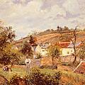 Pontoise by Camille Pissarro