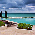 Pool At Rosewood Mayakoba by Teresa Zieba