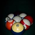 Pool Balls by Paul Ward