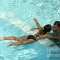 Pool Couple 9717b by Gary Gingrich Galleries