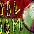 Pool Room Sign Abstract by David G Paul