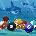 Pool Sharks by Kenneth F Aunchman