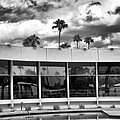 Pool Storm Palm Springs by William Dey