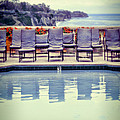 Pool With Views Of The Ocean by Jill Battaglia