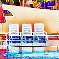 Poolside by John Lynch