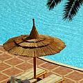 Poolside Relaxation by Antony McAulay