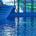 Poolside by Wendy J St Christopher