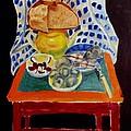 Poor Artist's Supper by Vladimir A Shvartsman