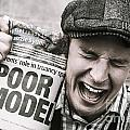 Poor Model by Jorgo Photography - Wall Art Gallery