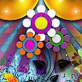 Pop Art Flower by ARTSHOT - Photographic Art