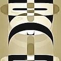 Pop Art People Totem 3 by Edward Fielding