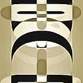 Pop Art People Totem 6 by Edward Fielding