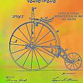 Pop Art Velocipede Patent by Dan Sproul