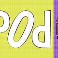 Pop Art Words 02 by Jo Roderick