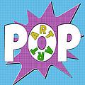 Pop Art Words Splat 01 by Jo Roderick