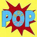 Pop Art Words Splat 02 by Jo Roderick