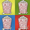 Popcorn Pop Art-jp2375 by Jean Plout