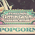 Popcorn Stand Carnival Photograph From The Summer Fair by Lisa Russo
