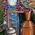 Popcorn Sutton - Moonshiner - Redneck by Jan Dappen