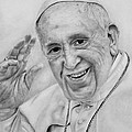 Pope Francis  by Margarete Bom