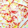 Pope Francis Profile -watercolor Portrait by Fabrizio Cassetta
