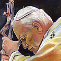 Pope John Paul II by Sheila Diemert