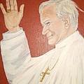 Pope Johnpaul II by Desline Vitto
