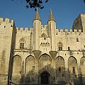 Popes Palace In Avignon by Pema Hou