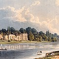 Popes Villa At Twickenham, 1828 by William Westall