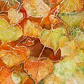 Poplar Leaves by Susan Crossman Buscho