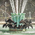 Popp Fountain In City Park New Orleans by Kathleen K Parker