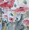 Poppies 01 by Ismeta Gruenwald