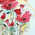 Poppies 05 by Ismeta Gruenwald