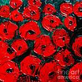 Poppies 3 by Mona Edulesco