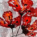 Poppies 47 by Sheila McPhee