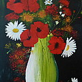 Poppies And Daisies by Alicia Fowler