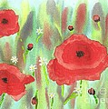 Poppies And Daisies by John Williams