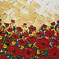 Poppies by Cathy Jacobs