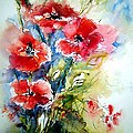 Poppies by Christa Friedl