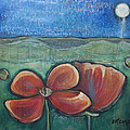 Poppies For Barbara And Paul by Laurie Maves ART