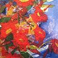 Poppies Gone Wild by Sherry Harradence