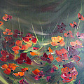 Poppies In The Shadow by Dorothy Maier