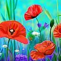 Poppies by Unal Gonkesen