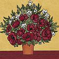 Poppy Bouquet by Medana Gabbard