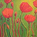Poppy Field by Nancy Jolley