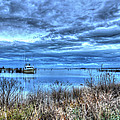 Poquoson Yacht On Stormy Morning by Greg Hager