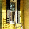 Porch - Long Afternoon Shadow Of Rocking Chair by Susan Savad