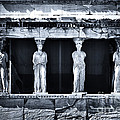 Porch Of The Caryatids by John Rizzuto